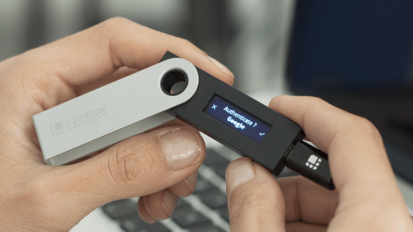 Ledger 2-factor authentication