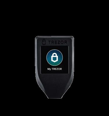 Trezor Model T Hardware Wallet