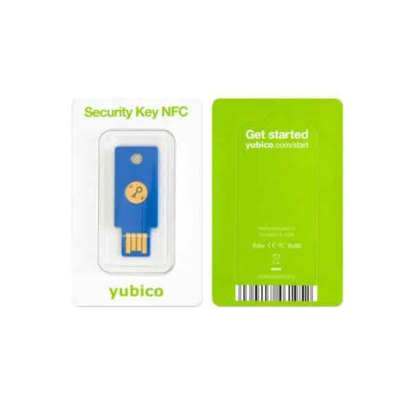 Yubico Security Key NFC- packaging