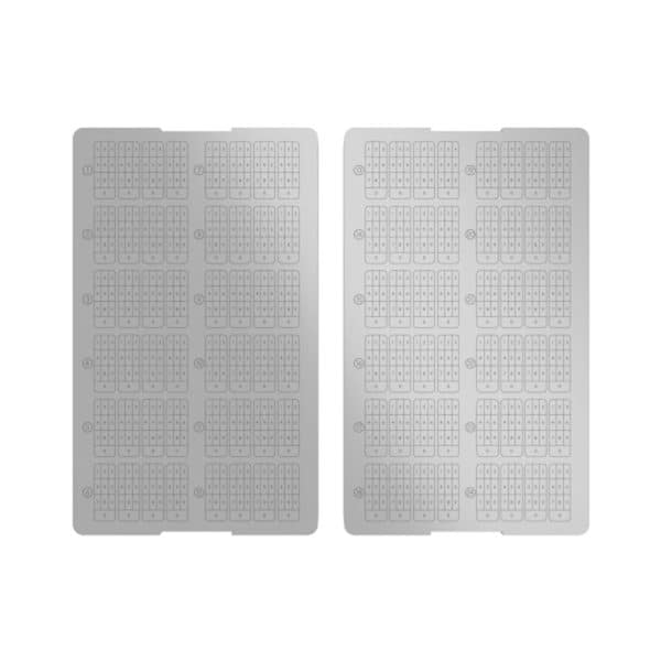 Cryptotag Zeus - Titanium sheets