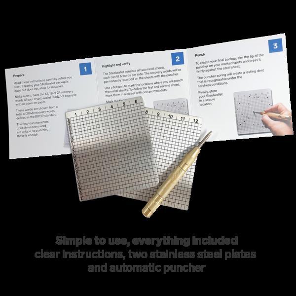 steelwallet manual